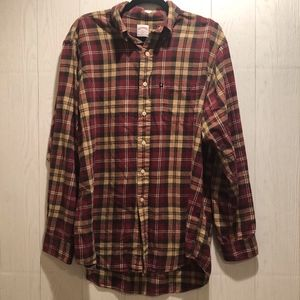 Brooks Brothers Long Sleeve Flannel Button Down